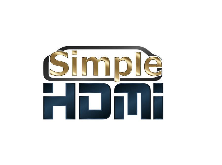 Kilpailutyö #                                        51                                      kilpailussa                                         Logo Design Simple HDMI