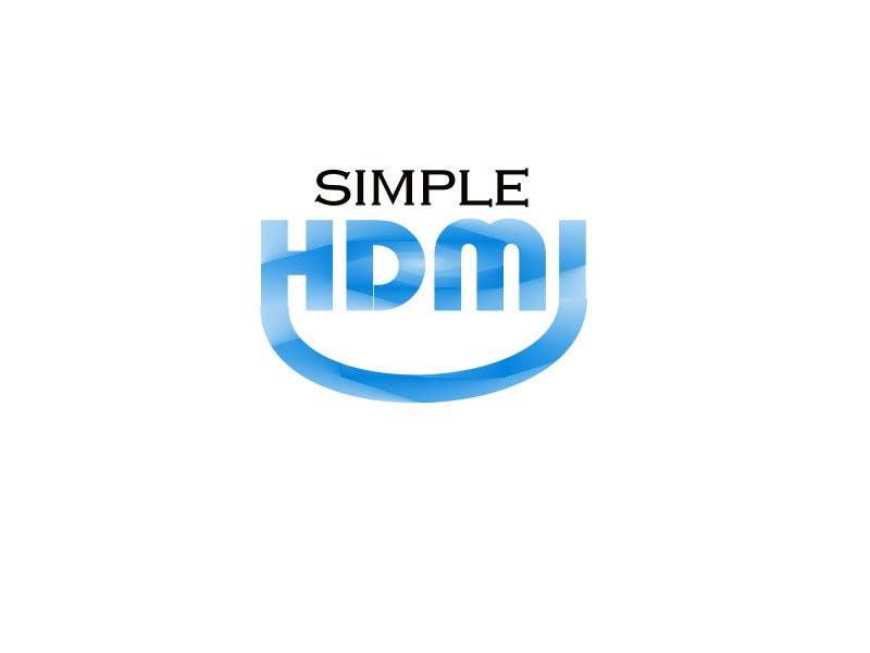 Kilpailutyö #                                        92                                      kilpailussa                                         Logo Design Simple HDMI