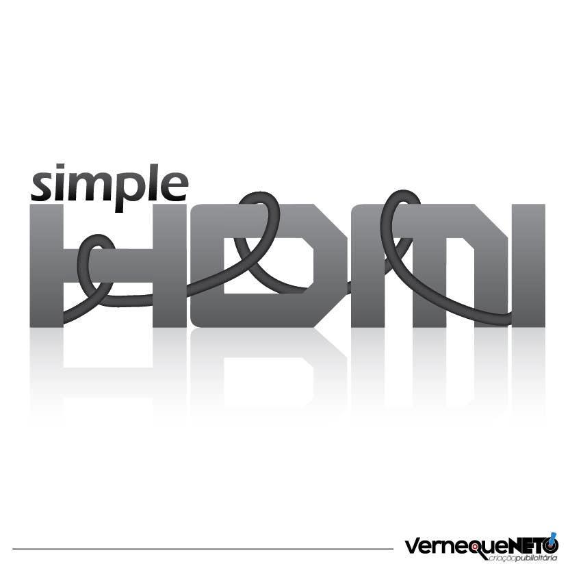 Kilpailutyö #                                        38                                      kilpailussa                                         Logo Design Simple HDMI