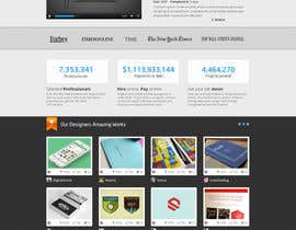 #738 for Freelancer.com contest! Design our Homepage! af JustLogoz