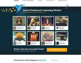 #254 para Freelancer.com contest! Design our Homepage! de dmoldesign