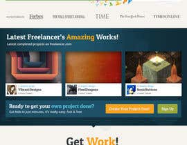 #585 for Freelancer.com contest! Design our Homepage! by dmoldesign