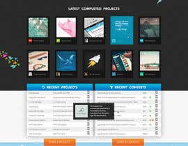 #612 para Freelancer.com contest! Design our Homepage! de MadebyPat