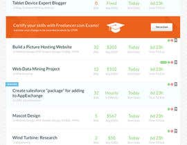 #27 untuk Freelancer.com contest! Design our Browse Jobs Page! oleh MadebyPat