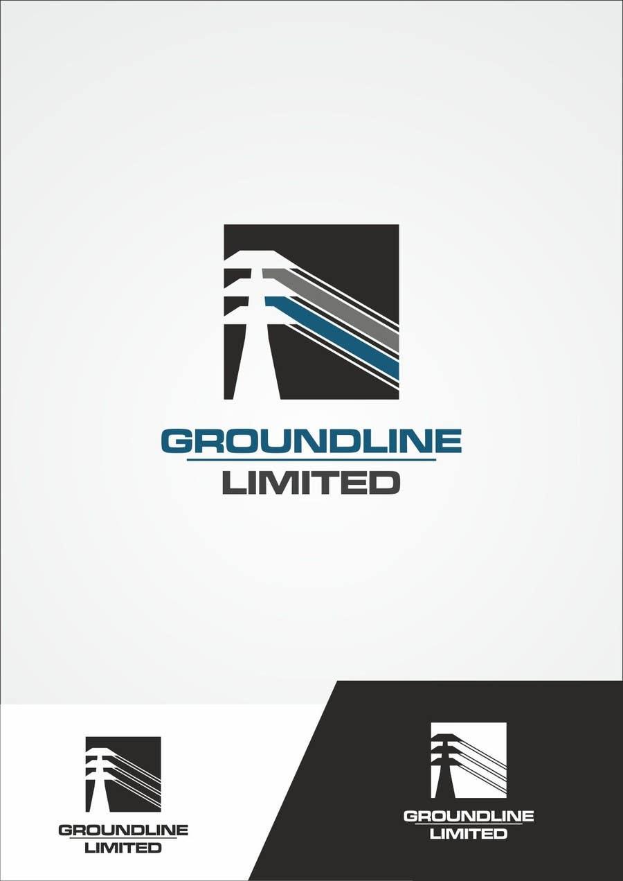 #535 for Logo Design for Groundline Limited by F5DesignStudio