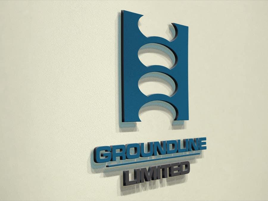 #585 for Logo Design for Groundline Limited by F5DesignStudio
