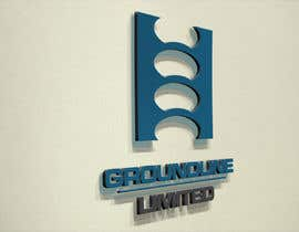 nº 585 pour Logo Design for Groundline Limited par F5DesignStudio
