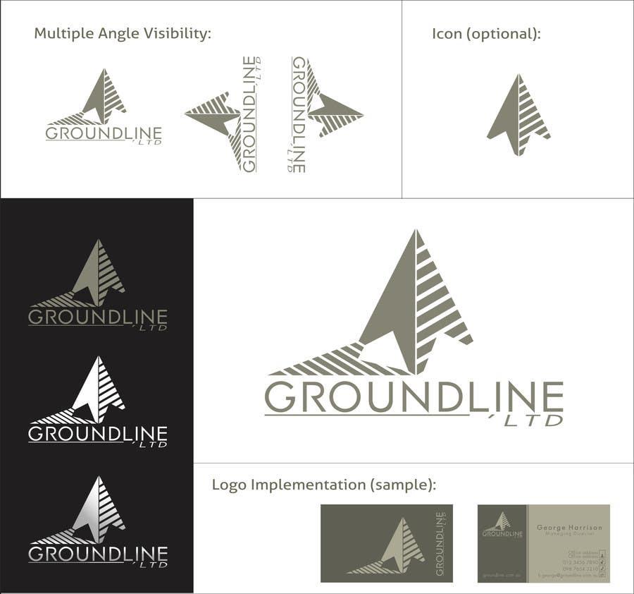 Bài tham dự cuộc thi #627 cho Logo Design for Groundline Limited