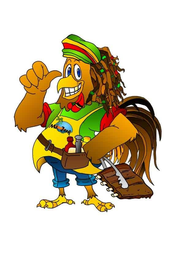 Contest Entry #                                        32                                      for                                         RASTA CHICKEN AKA MR. JERK!!!