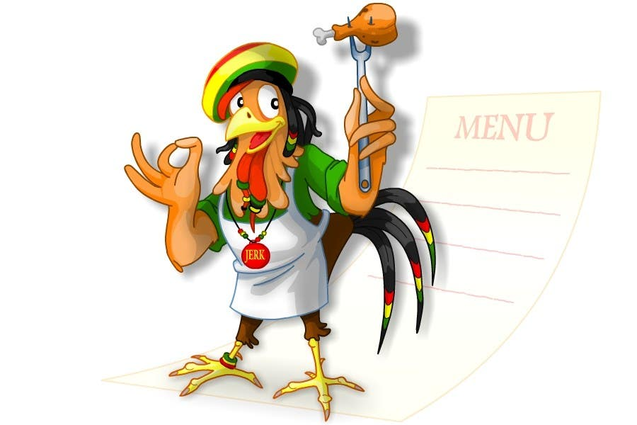 Contest Entry #                                        46                                      for                                         RASTA CHICKEN AKA MR. JERK!!!