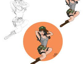 #31 for Draw 3 Pinup Model (example include) by Meruyert08