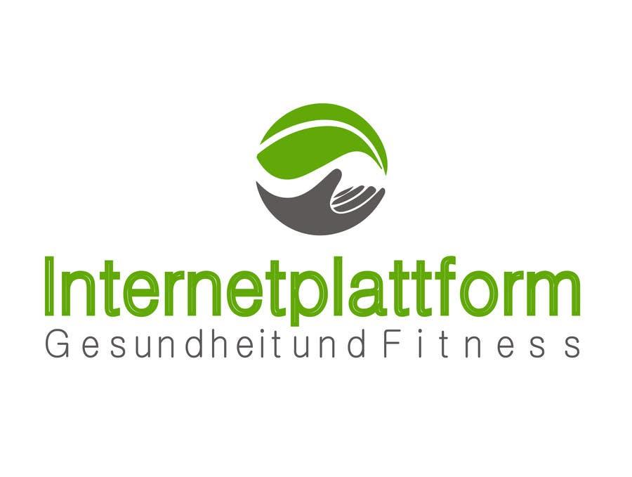 Kilpailutyö #                                        18                                      kilpailussa                                         Logo Design for Internetplattform Gesundheit und Fitness