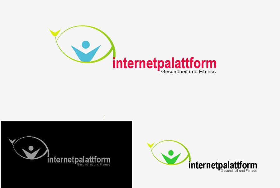 Kilpailutyö #                                        20                                      kilpailussa                                         Logo Design for Internetplattform Gesundheit und Fitness