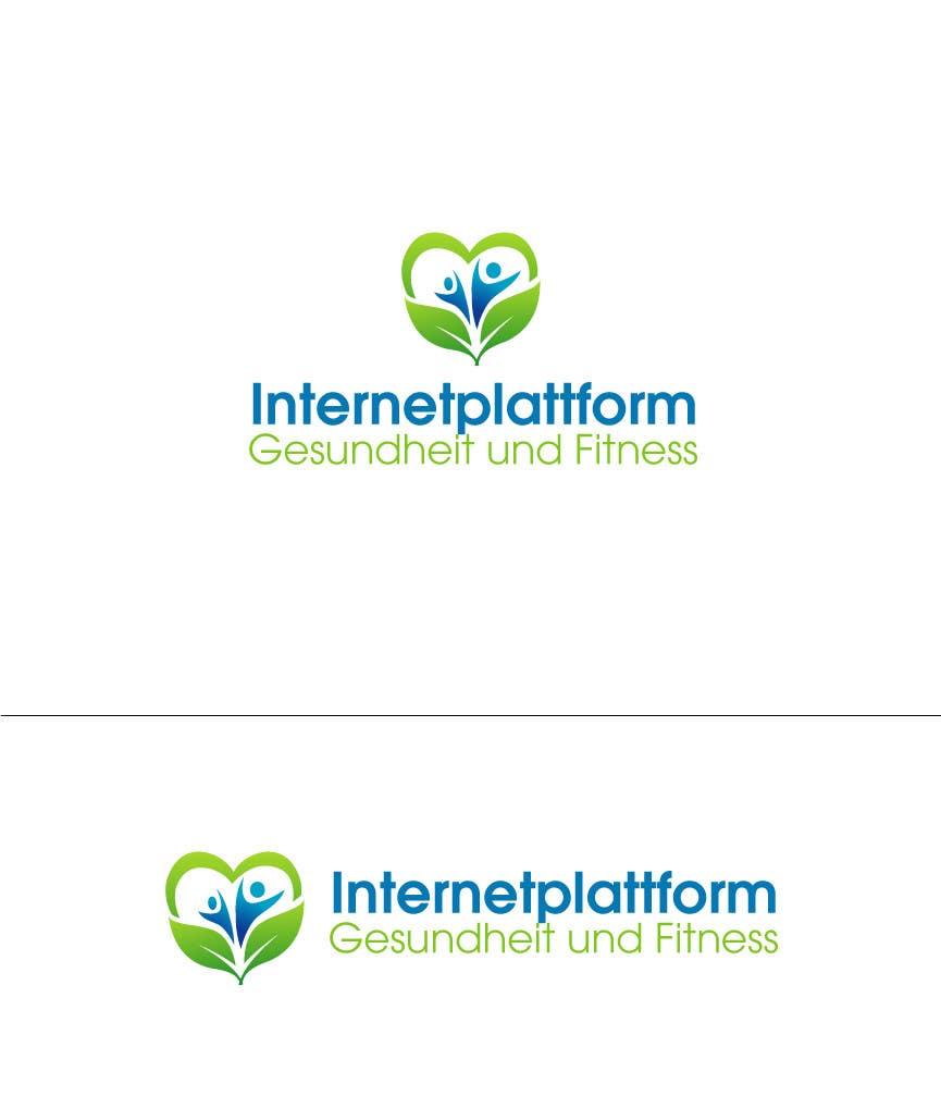 Kilpailutyö #                                        6                                      kilpailussa                                         Logo Design for Internetplattform Gesundheit und Fitness