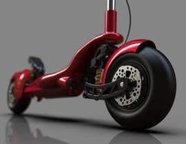 #16 для Design an electric scooter inspired after Ferrari F80 от IhorKozodoy