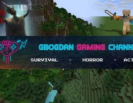#10 pentru Banner + profil pentru un canal de Gaming pe YT de către Peterwebandprint