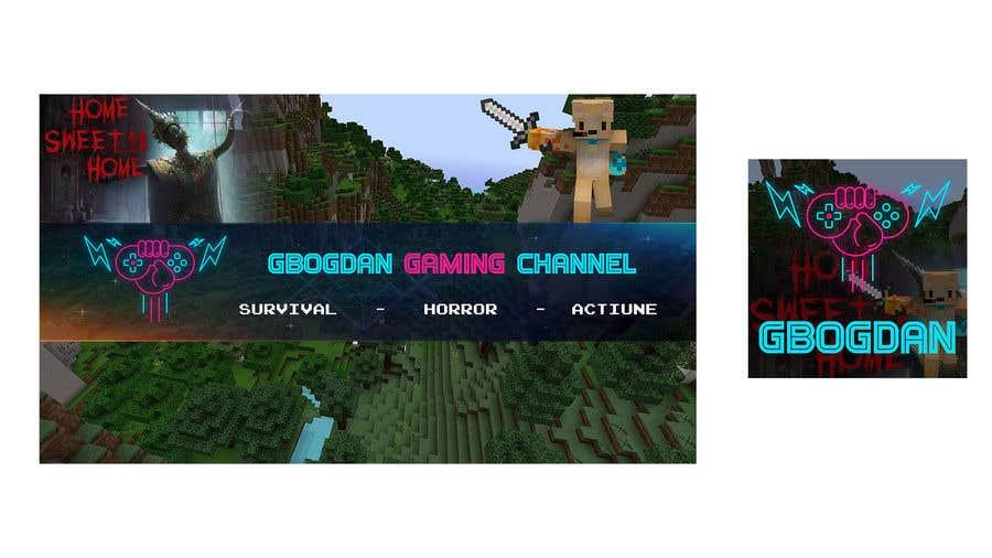 """Intrarea #                                        11                                      pentru concursul """"                                        Banner + profil pentru un canal de Gaming pe YT                                     """""""