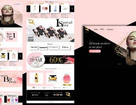 #131 для Beauty Ecommerce Website Design от binaliasy