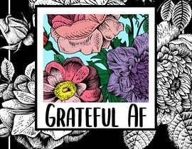 #102 для Grateful AF  - Book Cover от Nadiambis