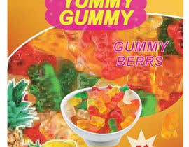 #58 for Create a design for the packaging - Gummy Bear Candy package design by hmrasim690