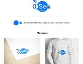"""#496 for Logo design for """"iSee"""" by rhrahul"""