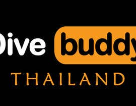 """#65 for I need a logo of my business to exactly same as pornhub . My business name is """"Dive Buddy"""" and please change white the word below the logo to """" THAILAND"""" by SaifulSk"""