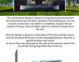 #36 для Design a simple modern catholic church от ChabelyHdz010
