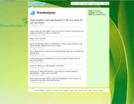 #5 untuk Twitter Background Design for GrowWomen.com oleh haska