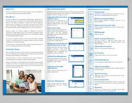 #11 for Trifold brochure for software product by noorulaminnoor