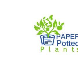 #15 for Logo for new company Paper Potted Plants by azharul128