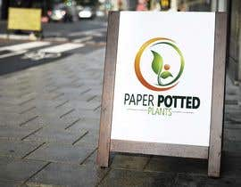 #22 for Logo for new company Paper Potted Plants by furqaneyrie