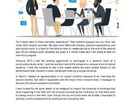 #45 для Content Articles - Importance of Internships on your career от Kyotodesu