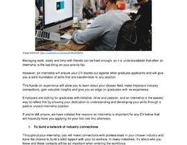 #15 для Content Articles - Importance of Internships on your career от stephhyde