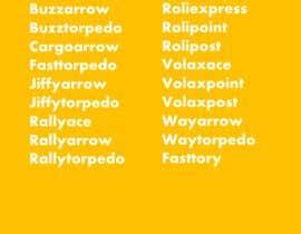 Nro 13 kilpailuun List of 20-30 name to my project käyttäjältä fmbocetosytrazos