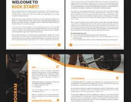 #15 for Design three PDF program guides by estiacalam