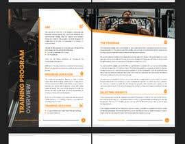 #22 for Design three PDF program guides by estiacalam