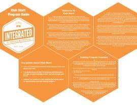 #13 for Design three PDF program guides by akhlaq74