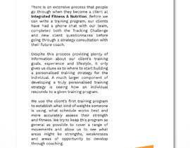 #11 for Design three PDF program guides by princessbadal