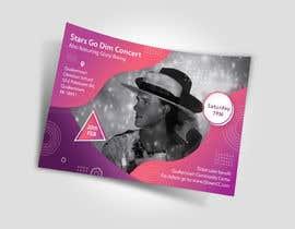 #65 untuk Design a Concert Post Card oleh naveedahm09
