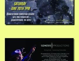 #63 untuk Design a Concert Post Card oleh Aksh86