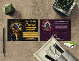 #51 untuk Design a Concert Post Card oleh jnul1997