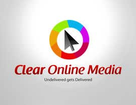 nº 26 pour Logo Design for CLEAR ONLINE MEDIA par praxlab