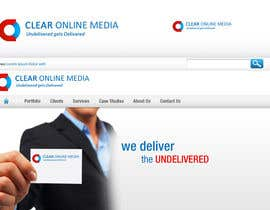 nº 48 pour Logo Design for CLEAR ONLINE MEDIA par praxlab
