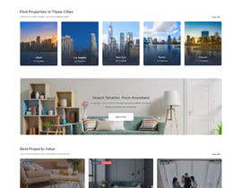 #12 для Design a property listing website от Shouryac