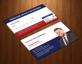 #84 for Design a Business Card with a Medicare Theme by Uttamkumar01