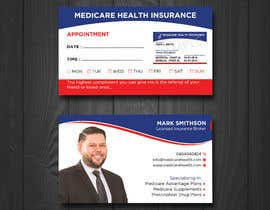 #128 for Design a Business Card with a Medicare Theme by irubaiyet1