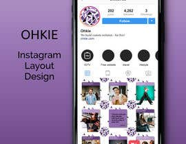 #22 for Design an Instagram layout by salmanKotler
