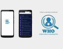 #61 для Design a logo for the World Health Organization Coronavirus app от tabitaprincesia