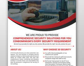 #150 for Flyer for Security Company by moslehu13