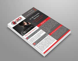 #151 for Flyer for Security Company by tangina0016